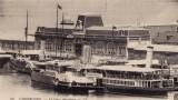 La Gare de Cherbourg, de 1912, qui a vu de loin le Titanic, en escale dans la rade...