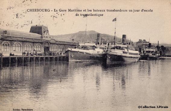 la gare maritime de cherbourg