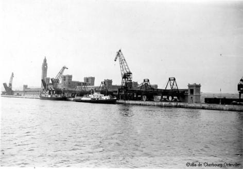 La nouvelle Gare maritime transatlantique de Cherbourg, inaugurée en 1933
