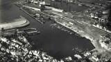 Photographie aérienne de Cherbourg