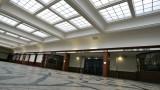 La Salle des Pas Perdus qui accueille aujourd'hui le centre de congrès de La Cité de la Mer