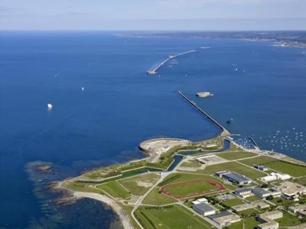 Autre vue de la rade de Cherbourg