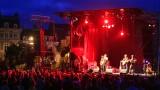 Concert sur la plage verte de Cherbourg