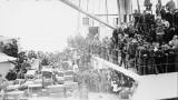 Emigrants et leurs bagages, 1913, à bord du S.S.Imperator