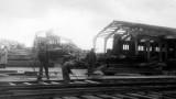 Travaux de reconstruction dans la Gare Maritime Transatlantique de Cherbourg