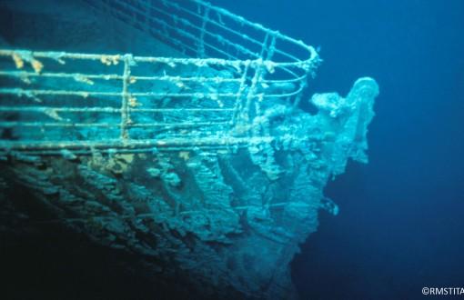 """la proue du """"Titanic"""""""