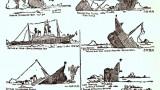 Illustration du naufrage du Titanic