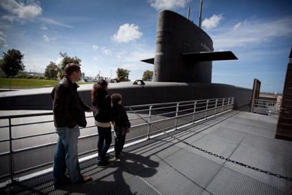 Le sous-marin Le Redoutable